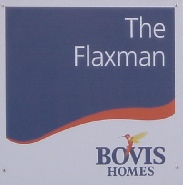 Bovis Homes Showhome plot board