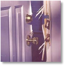 Sign of forced entry required for successful claim