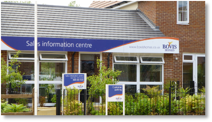 Bovis site sales office