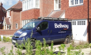 Bellway Homes Van