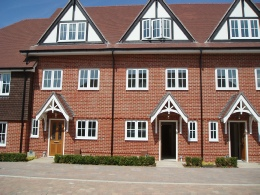 New build townhouses